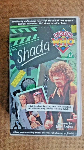 Doctor Who - Shada (VHS, 2-Tape Set) With Script Book - Tom Baker